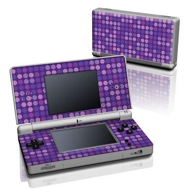 【Decalgirl】【お取り寄せ】ニンテンドーDS Lite用スキンシール【Purple Dots】