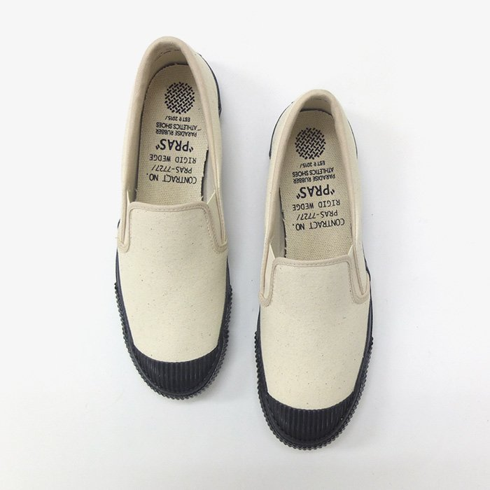 PRAS | SHELLCAP SLIP-ON | KINARI × BLACK