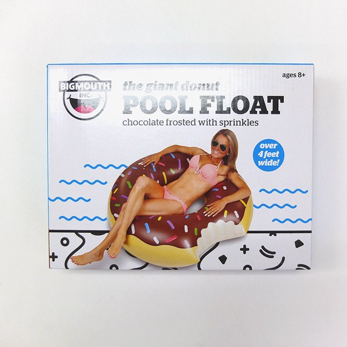 Donut Pool Float | Brown