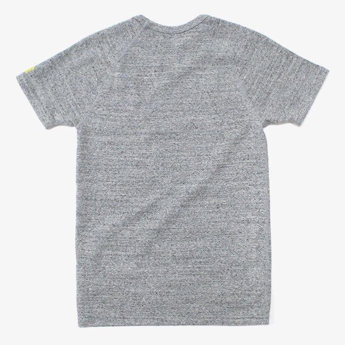 HOLLYWOOD RANCH MARKET | ストレッチフライス ショートスリーブTシャツ | GREY
