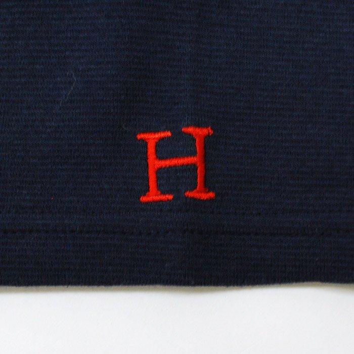 HOLLYWOOD RANCH MARKET   ストレッチフライス ショートスリーブTシャツ   NAVY