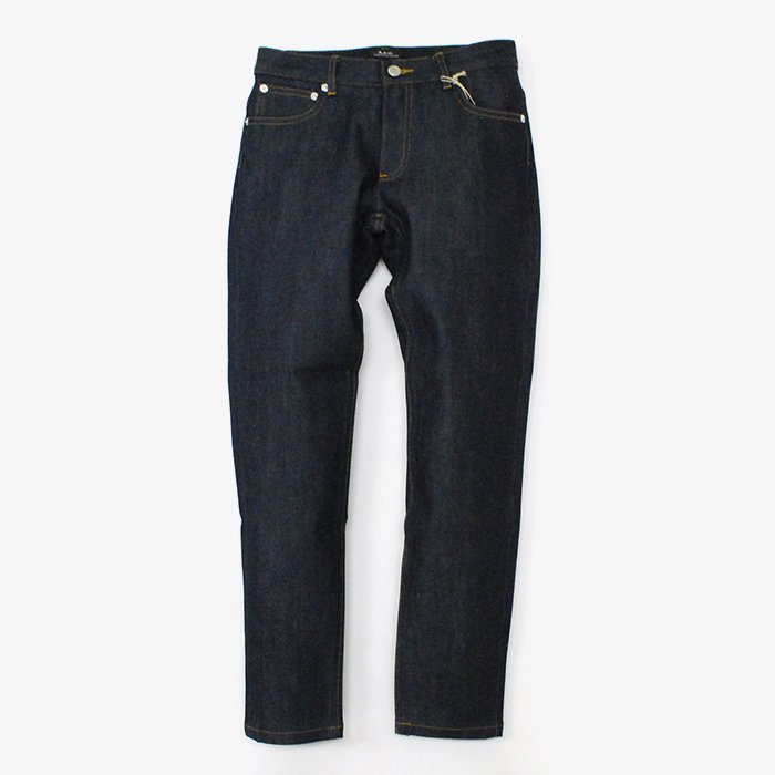A.P.C. DENIM | JEAN ETROIT COURT | DENIM BRUT DELAVE STRETCH