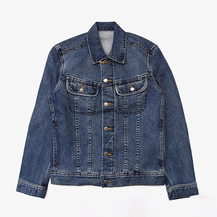 A.P.C. DENIM | BLOUSON JEAN � | DENIM BRUT DELAVE STRETCH