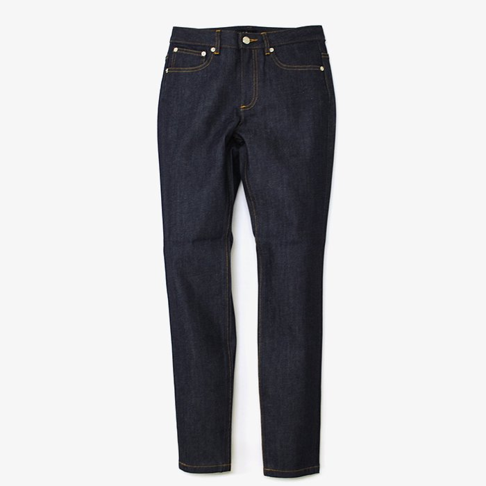 A.P.C. DENIM | JEAN HIGH STANDARD  | INDIGO STRETCH