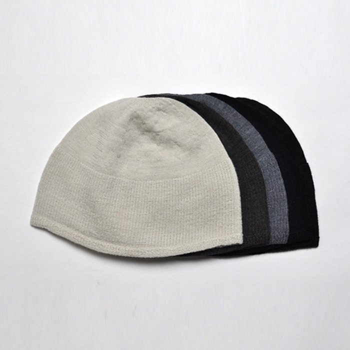 F/style | ホールガーメントのウールニット帽子 | ダークブラウン