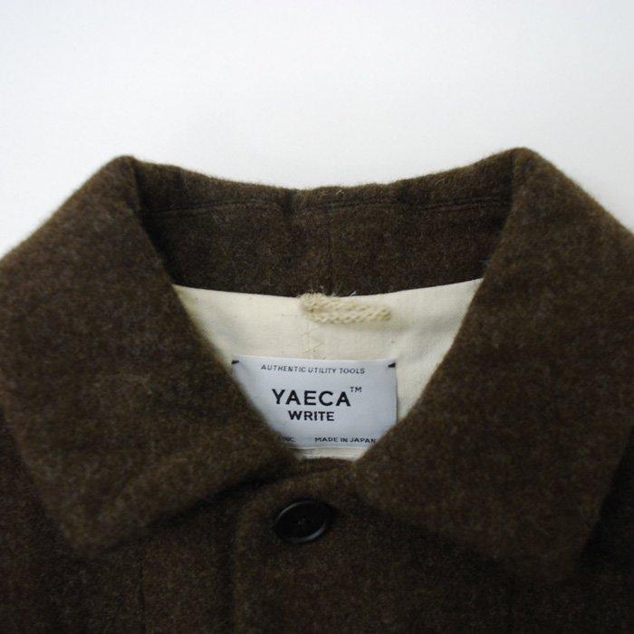YAECA | MEN | 165110 WRITE OVERCOAT | BROWN