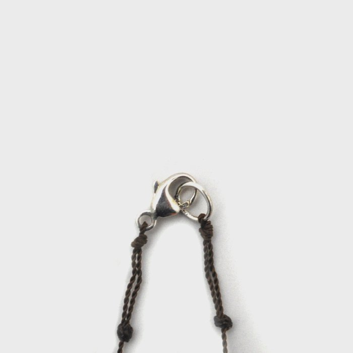 Margaret Solow | Smooth Stone Necklace | Chalcedony