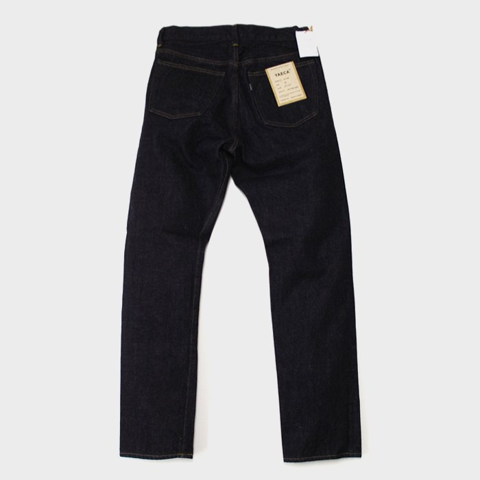 YAECA | MEN | 12-14W DENIM | STANDARD | INDIGO