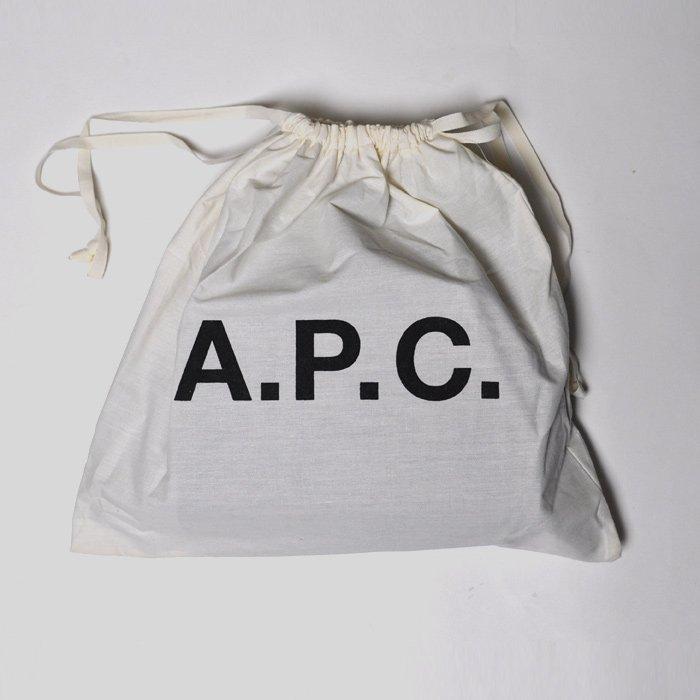 A.P.C. FEMME | Half Moon Bag | BLACK