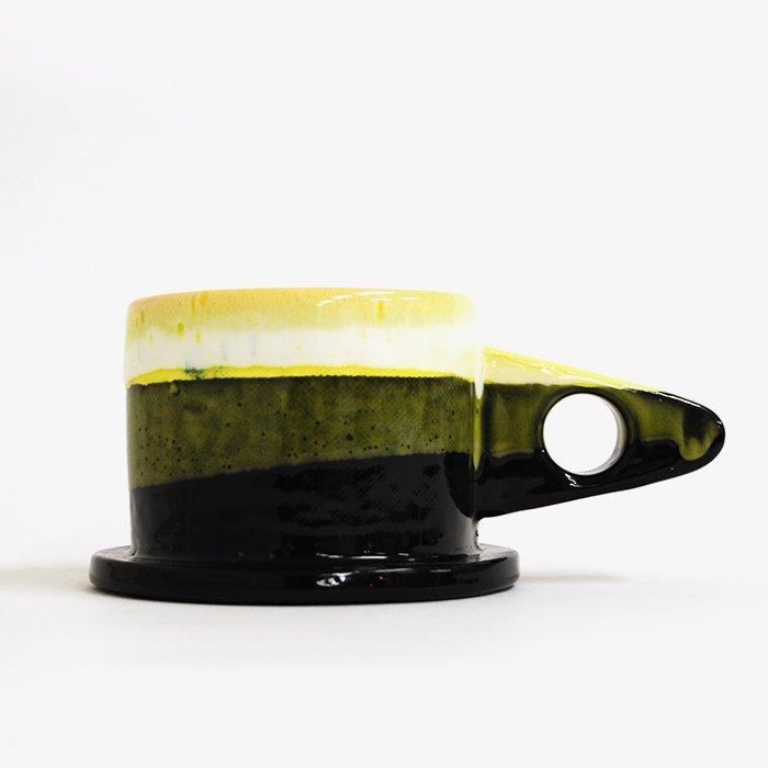 Echo Park Pottery   Mug   Yellow x Black