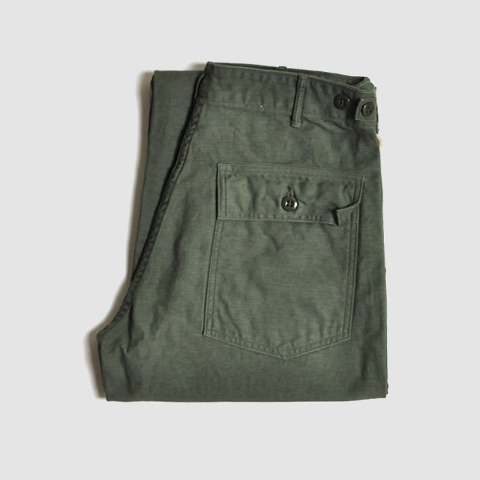 orSlow | Unisex | US Army Fatigue Pants | Green