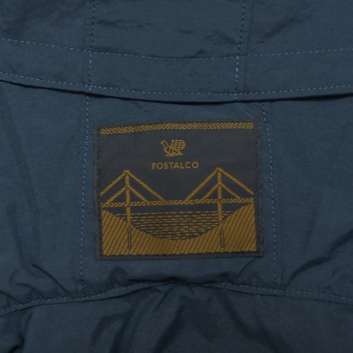 POSTALCO | Four Vent Long Rain Jacket | Dark Blue