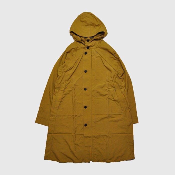 POSTALCO | Four Vent Long Rain Jacket | Yellow Ochre