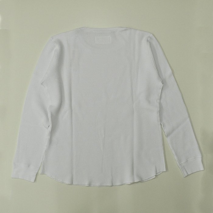 WACKOMARIA | CREW NECK THERMAL SHIRT  | WHITE