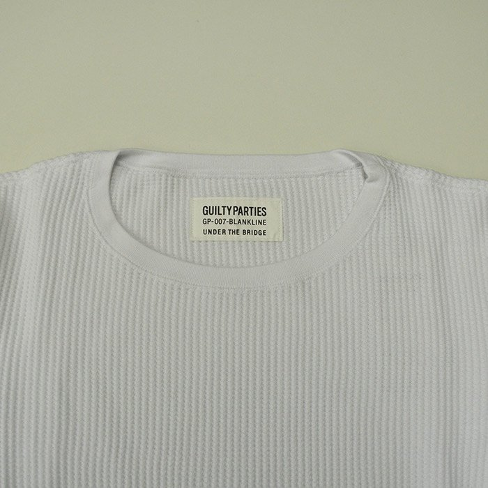 WACKOMARIA |HEAVY WEIGHT CREW NECK T-SHIRT  | WHITE