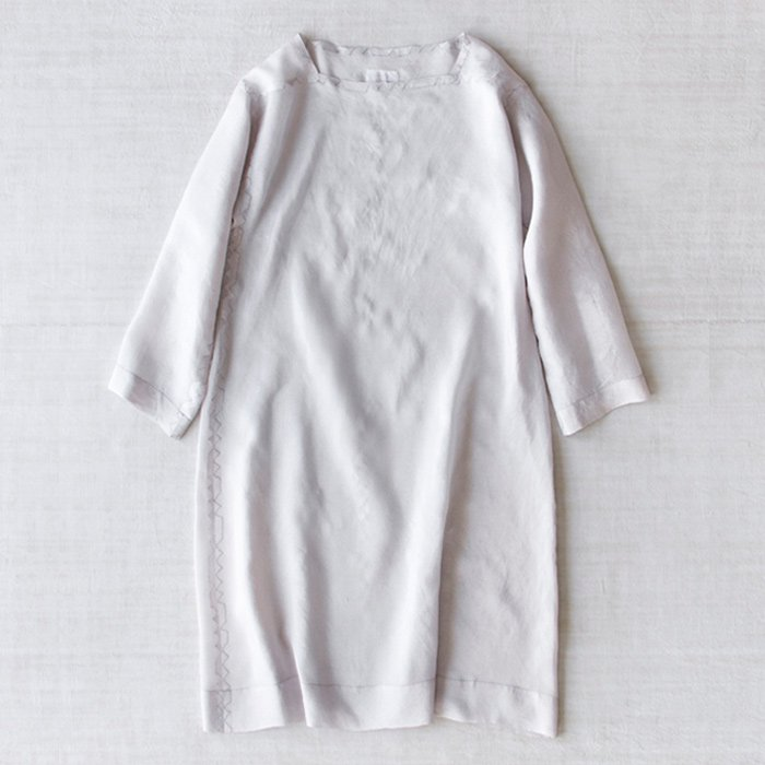 DOSA | Tunic w/kangri Stitching | Midnight