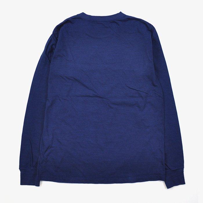HOLLYWOOD RANCH MARKET | GSY クルーネックロングスリーブTシャツ | NAVY