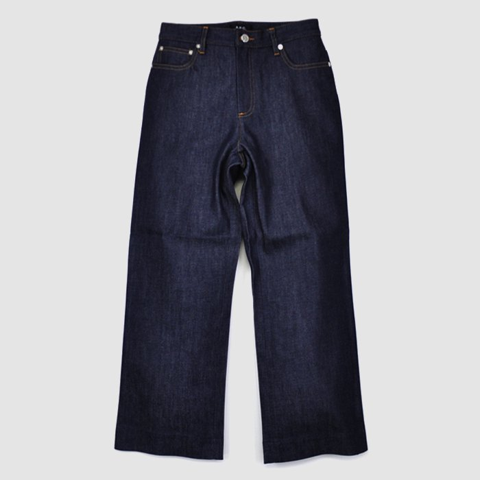 A.P.C. DENIM | WOMEN | JEAN SAILOR | DENIM BRUT STRETCH