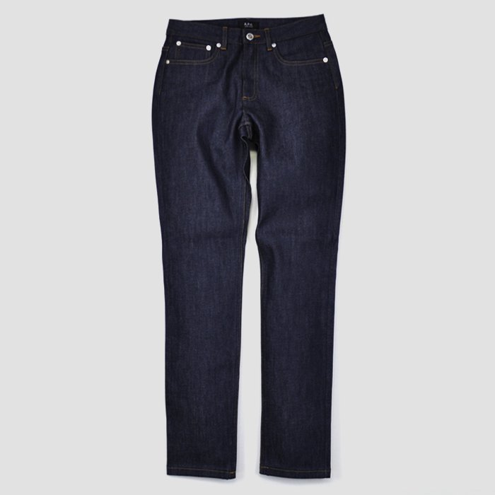 A.P.C. DENIM | WOMEN | JEAN DROIT | DENIM BRUT STRETCH