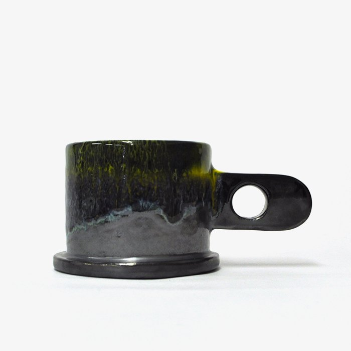 Echo Park Pottery | Mug | Yellow x Black