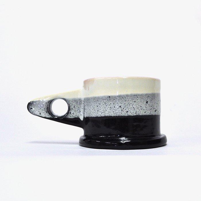 Echo Park Pottery | Mug | White x Black