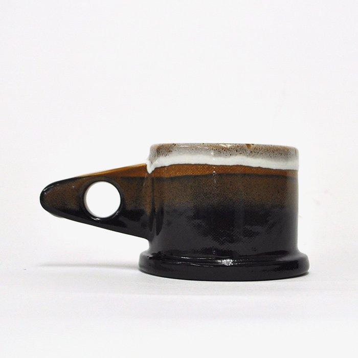 Echo Park Pottery | Mug | Brown x Black