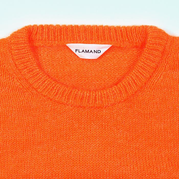 FLAMAND | MOHAIR CREW | ORANGE