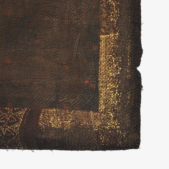 Vintage Quilt | 泥染め