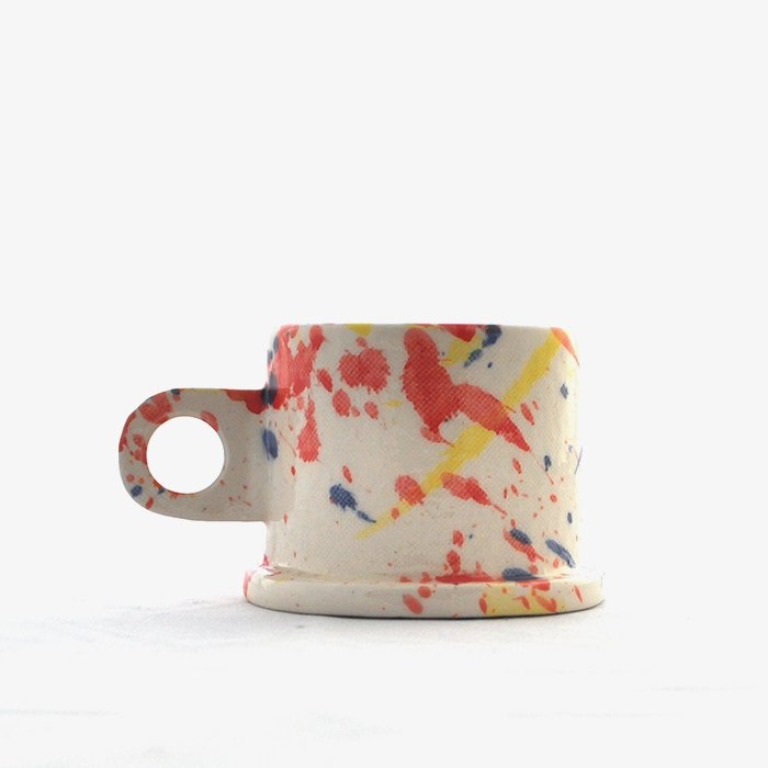 Echo Park Pottery | Mug | Splattered