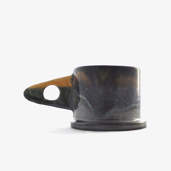 Echo Park Pottery | Mug | Yellow x Black