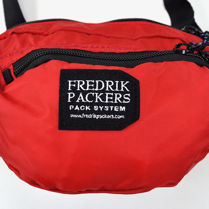 FREDRIK PACKERS | 210D NYLON OXFORD ACTIV PACK | RED