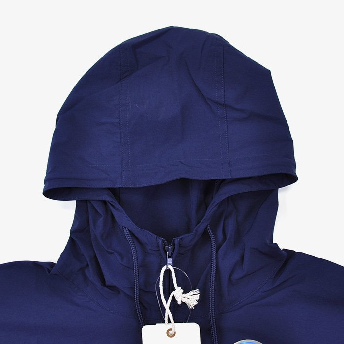 BLUE BLUE | MEN | RUSSELL・BLUE BLUE NYLON STRETCH ANORAK | NAVY