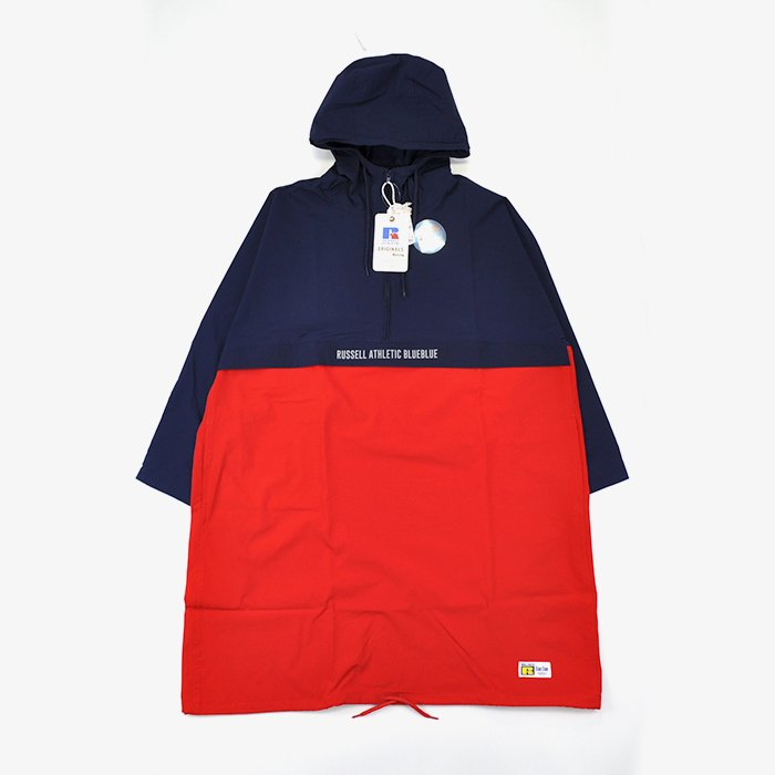 BLUE BLUE | WOMEN | RUSSELL・BLUE BLUE NYLON STRETCH WOMENS ANORAK COAT | NAVY