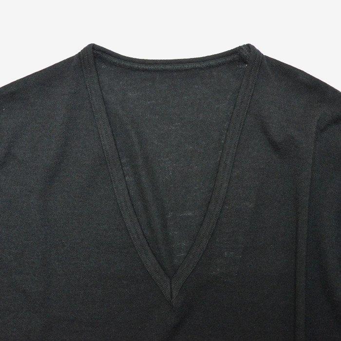 ゴーシュ | ソフトウールコットン天竺 | ワンピース | ブラック