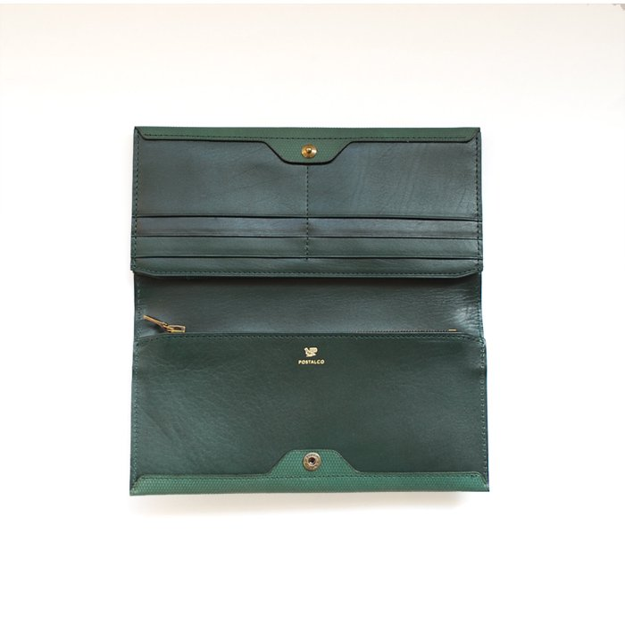 POSTALCO | Long Wallet | Emerald Green