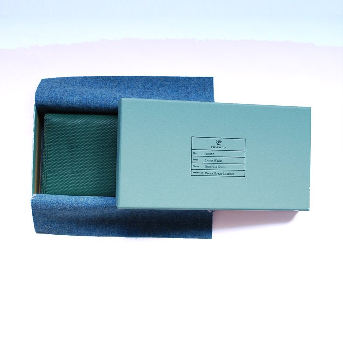 POSTALCO   Long Wallet   Emerald Green
