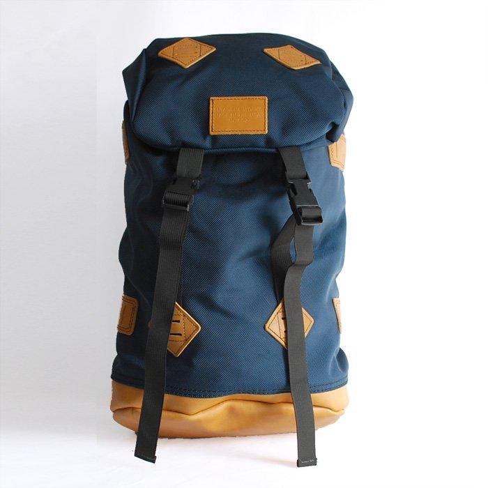 Altadena Works: 802-Daypack (L) | Rucksack [Navy x Acorn]