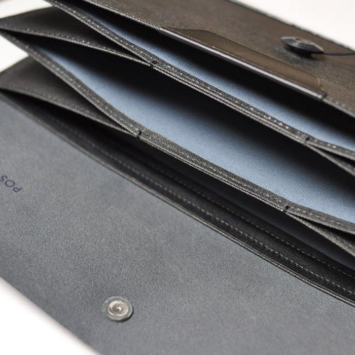 POSTALCO | Travel Wallet | Black