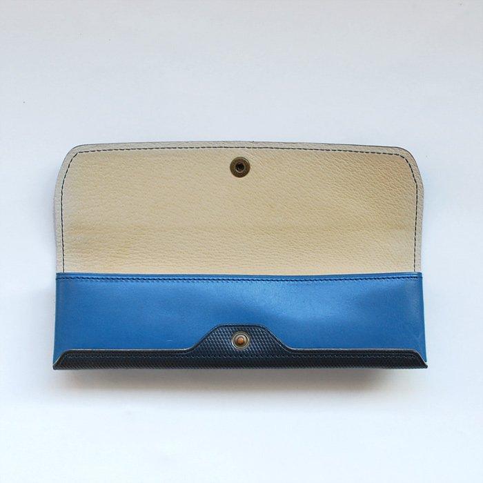 POSTALCO   Three Pen Case   Cobalt Blue