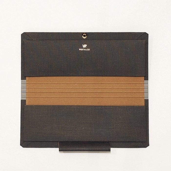 POSTALCO | Folio Cover for「超」整理手帳 | Black