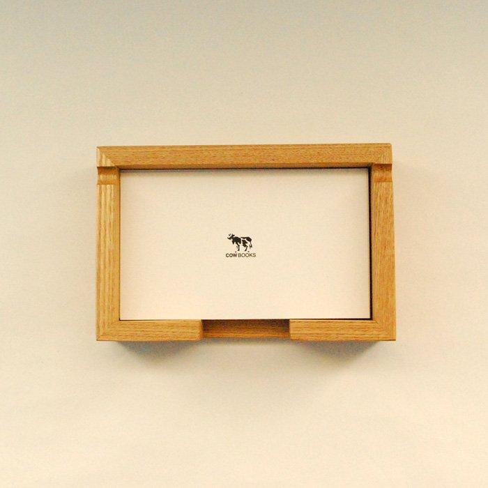 COWBOOKS | 5×3カードのメモトレイ