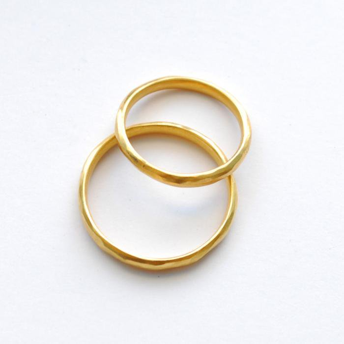 SOURCE objects | SOURCE Classic Marriage Ring | 22k Gold Marriage Ring | 12号以下