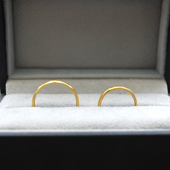 SOURCE objects | SOURCE Classic Marriage Ring | 22k Gold Marriage Ring | 12号以上