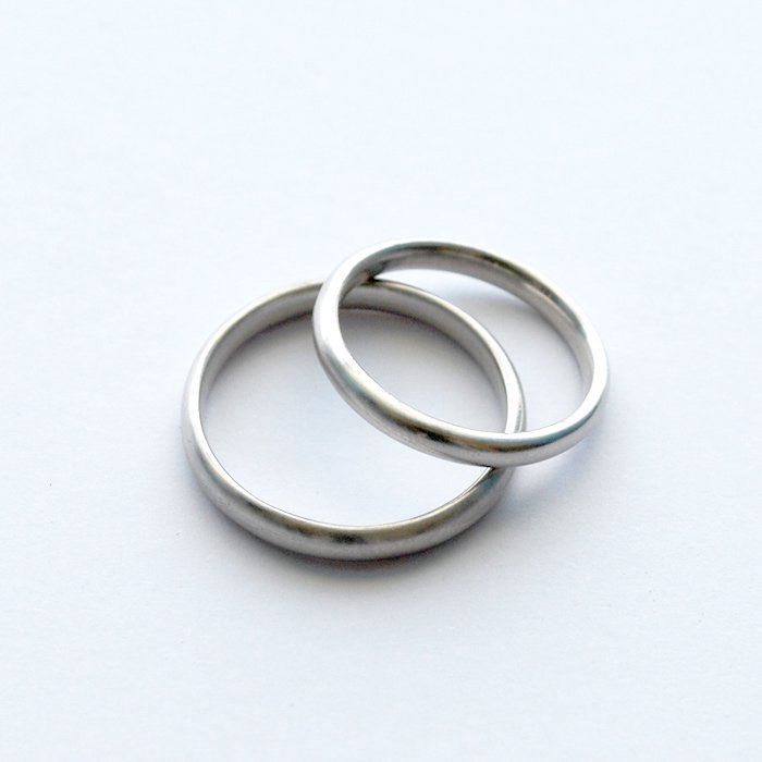 SOURCE objects | SOURCE Classic Marriage Ring | Platinum Marriage Ring | 12号以下