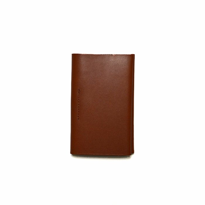 POSTALCO   Business Card Holder   Brick Red