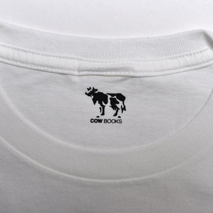 COWBOOKS | Logo T-shirts | White × Red
