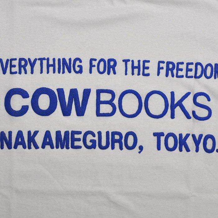 COWBOOKS | Logo T-shirts | White x Blue