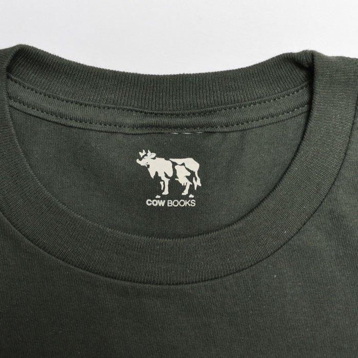 COWBOOKS | Logo T-shirts | Green x Ivory