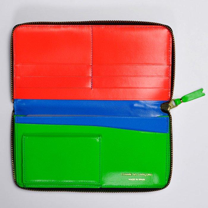 CDG Wallet   Super Fluo   Blue