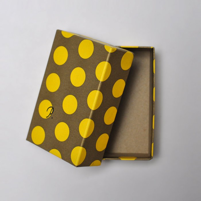 PAPIER LABO. | PL Card Box | Yellow